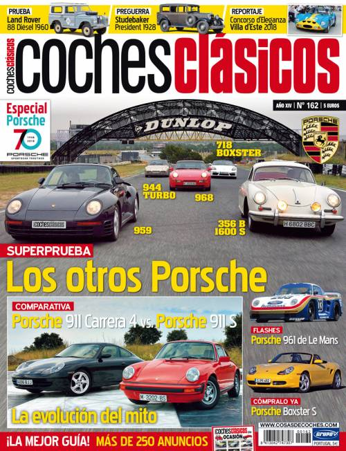 Revista Coches Clásicos Número 162