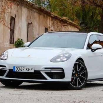 El Porsche Panamera Turbo Sport, turismo a prueba