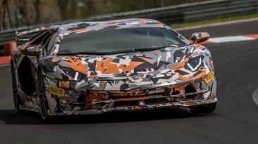 récord del Lamborghini Aventador