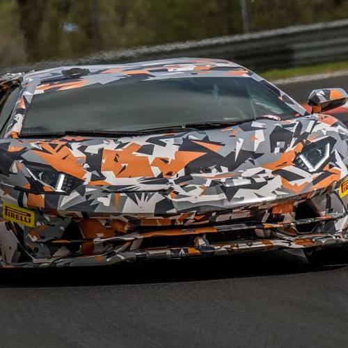 La vuelta récord del nuevo Lamborghini Aventador en Nürburgring, desde dentro