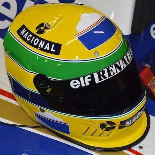 Uno de los cascos de Ayrton Senna puede ser tuyo