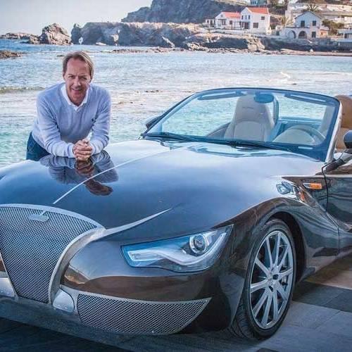 Pure Car, el superdeportivo eléctrico creado por un profesor de Murcia