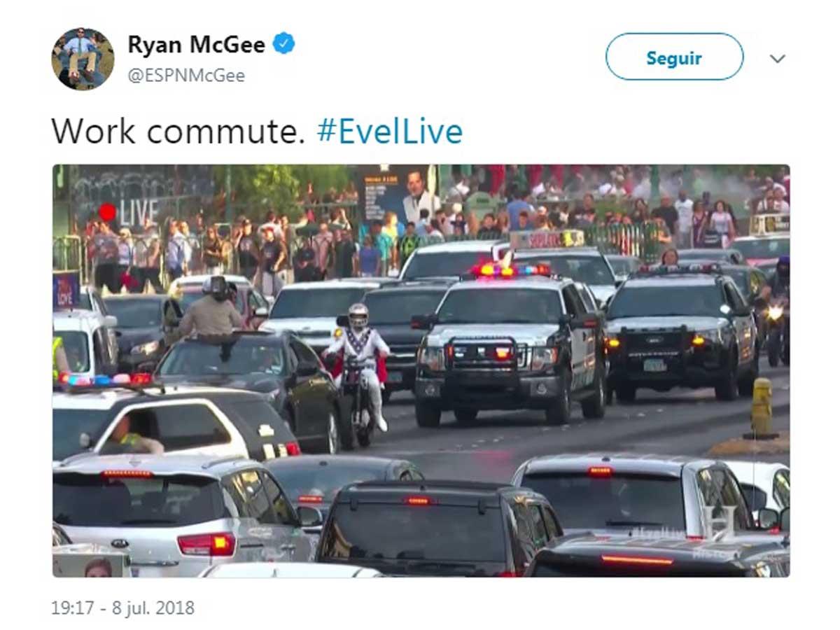 Travis Pastrana salto en Las Vegas