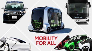 vehículos inteligentes de Toyota