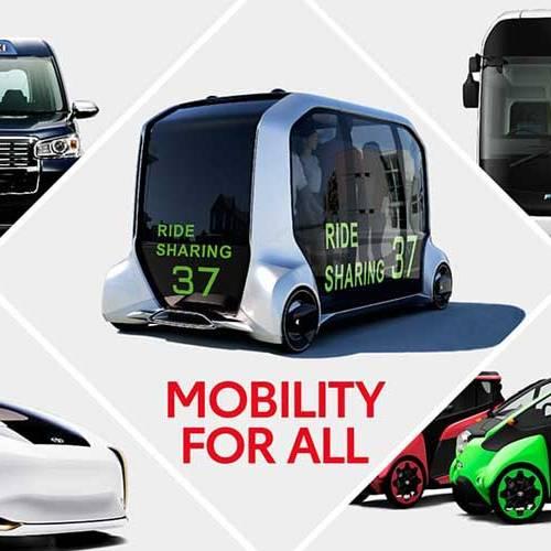 Así serán los vehículos inteligentes de Toyota para los Juegos Olímpicos de Tokio