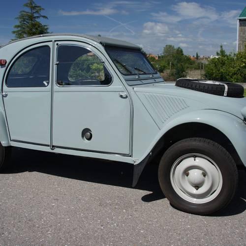 Prueba Clásico Citroën 2CV Sahara, pregunta capciosa