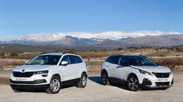Skoda Karoq y Peugeot 3008