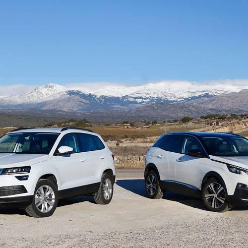 Comparamos el Skoda Karoq Ambition con el Peugeot 3008, ¿quién da más?