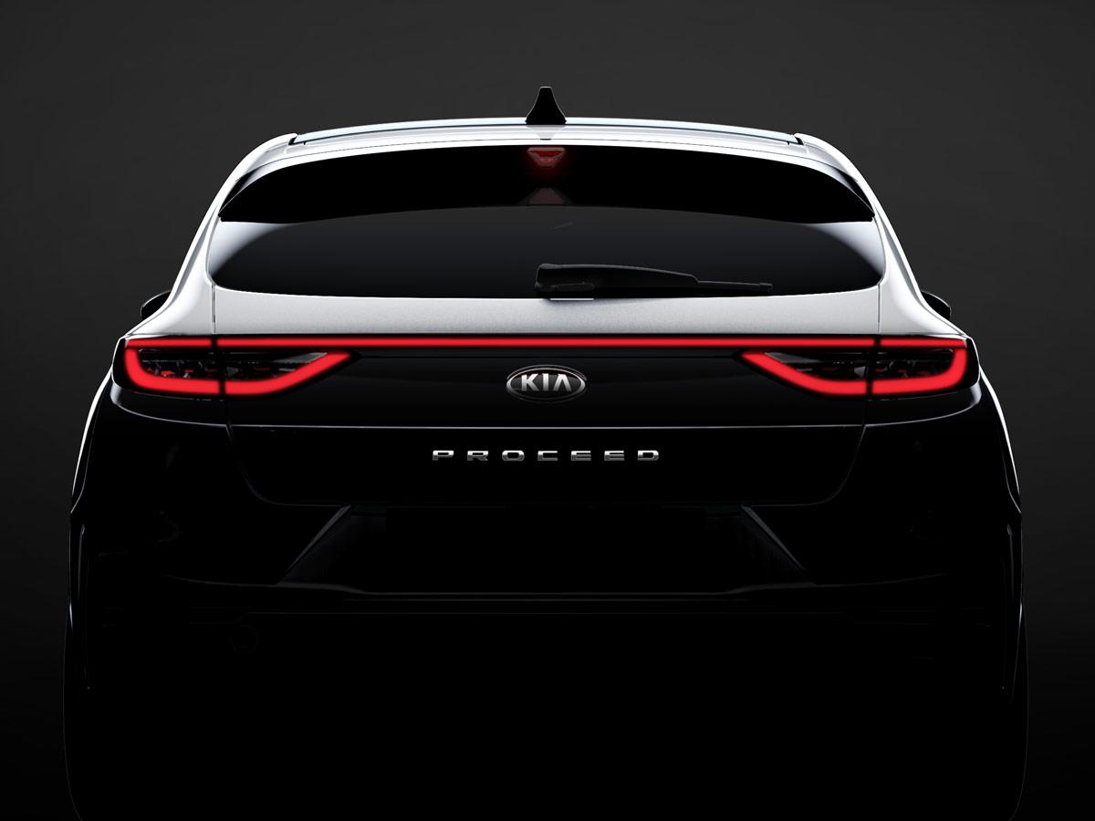 Kia Proceed 2019 primera imagen