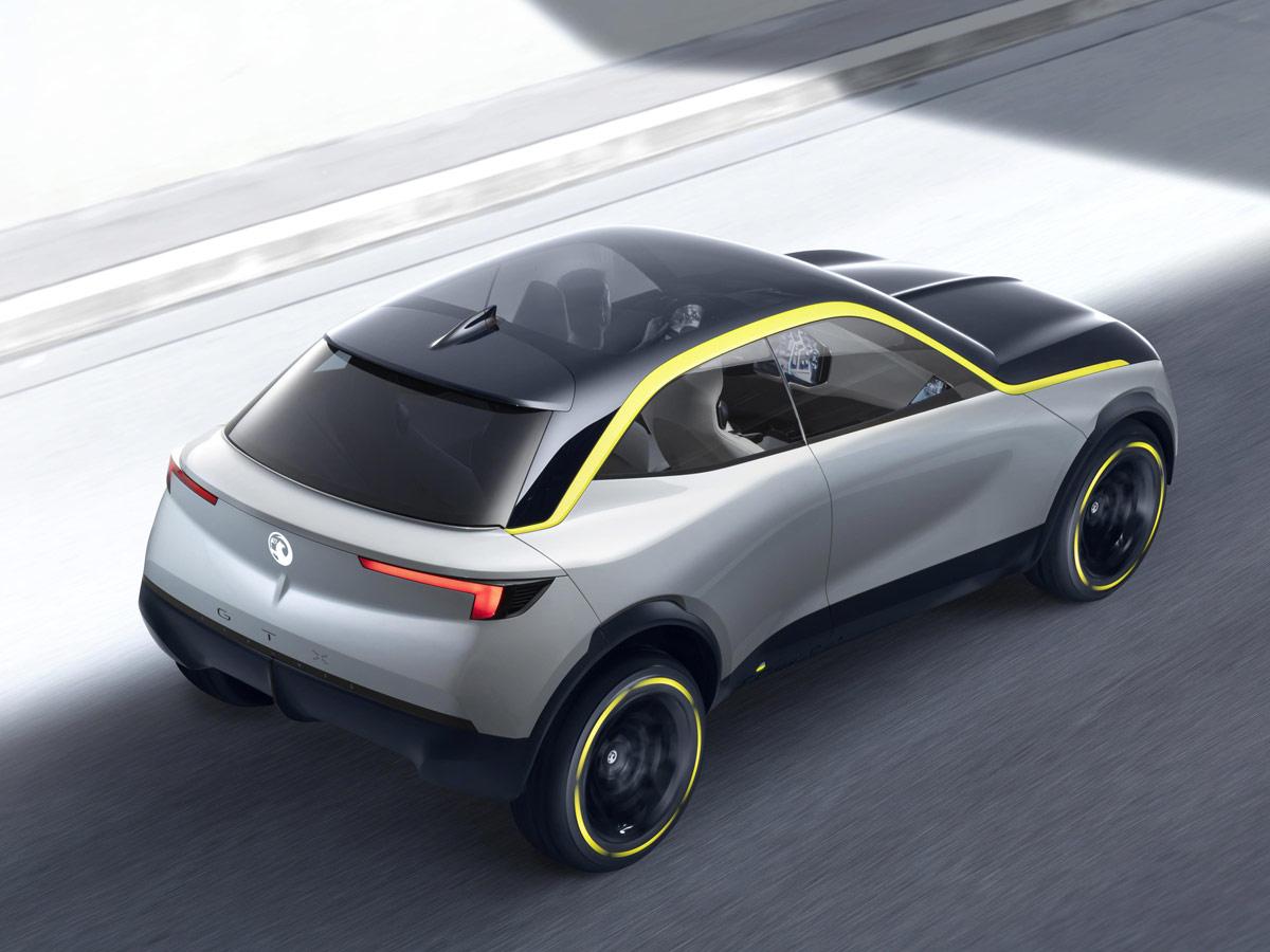 opel gt x experimental as se inspira la alemana para fabricar el ctricos cosas de coches. Black Bedroom Furniture Sets. Home Design Ideas