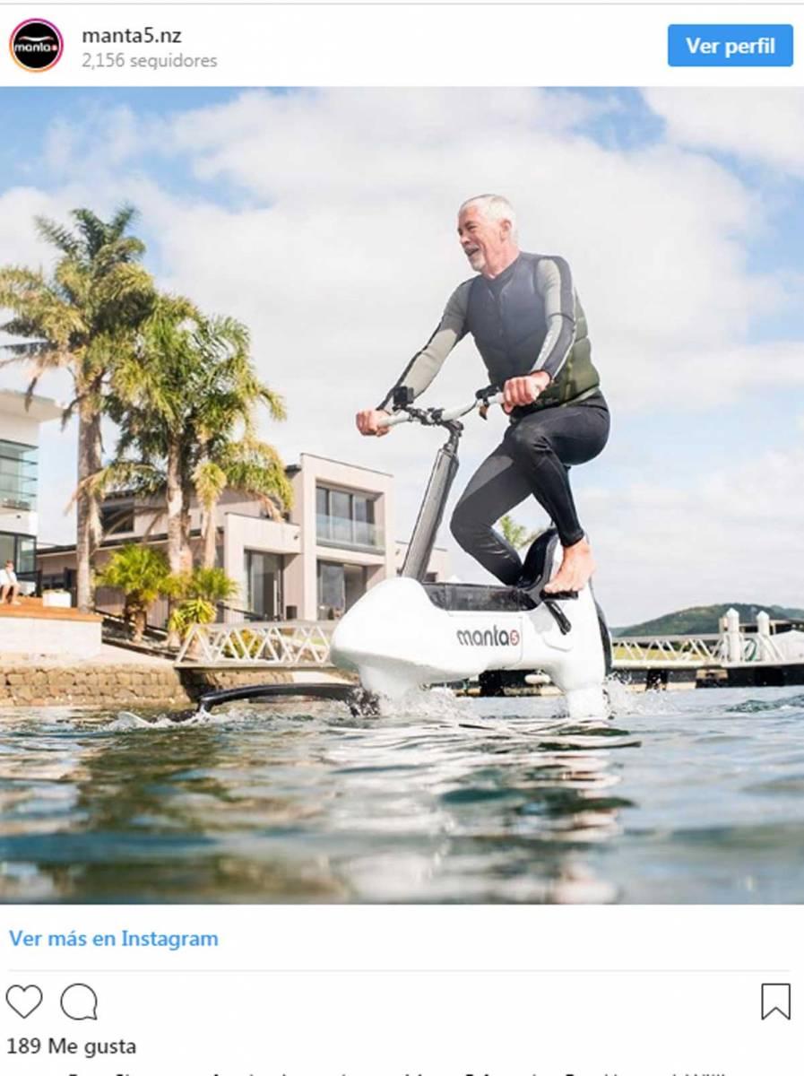 bici acuática