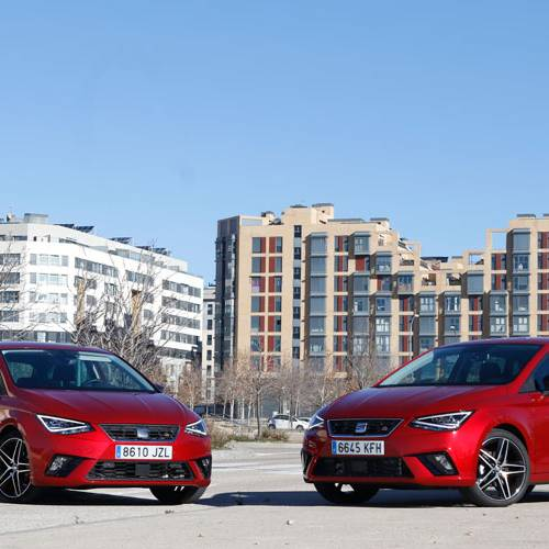 Comparativa del SEAT Ibiza FR 1.0 TSI vs. FR 1.6 TDI, madera de líder