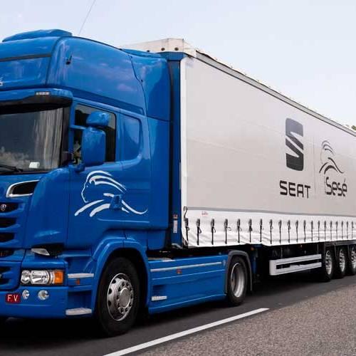 Llega el duotráiler, el camión más grande y eficiente de Europa
