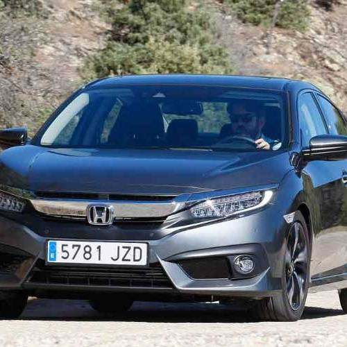 Probamos el Honda Civic Sedán, un coche exclusivo como pocos