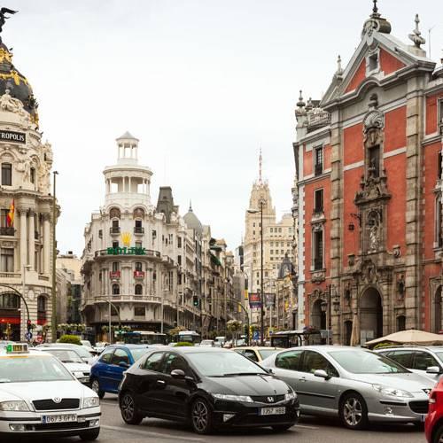 Aprueban el nuevo mapa de áreas acústicas de Madrid
