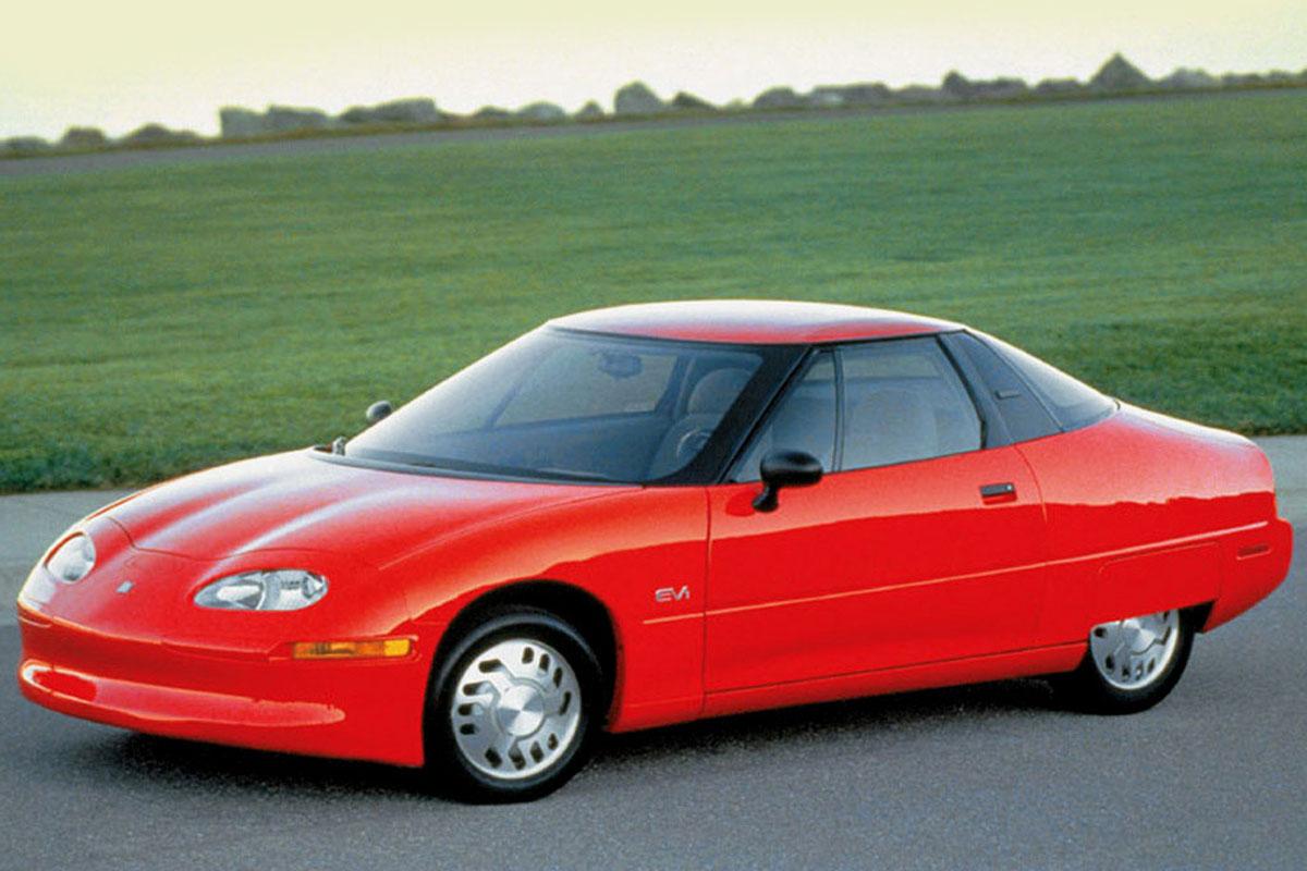 Así era el primer coche eléctrico de General Motors