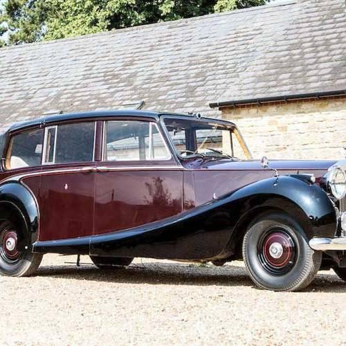Salen a subasta varios Rolls-Royce de la reina Isabel II de Inglaterra