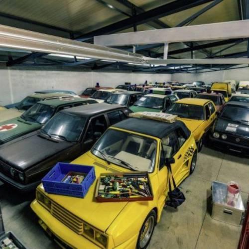 ¿Sabes quién posee la mayor colección del Volkswagen Golf del mundo?