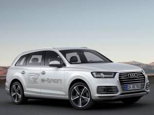 Audi Q7 e-tron - Modos de conducción