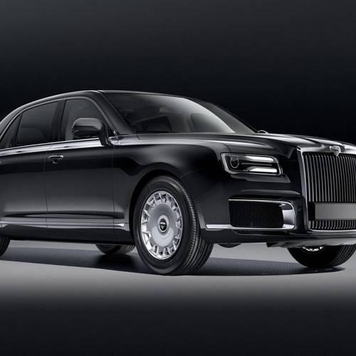 Sale a la venta el nuevo coche de Putin, el Aurus Senat