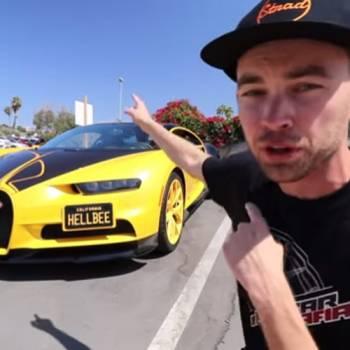El sueño de muchos: sacarse el carné de conducir con un Bugatti Chiron