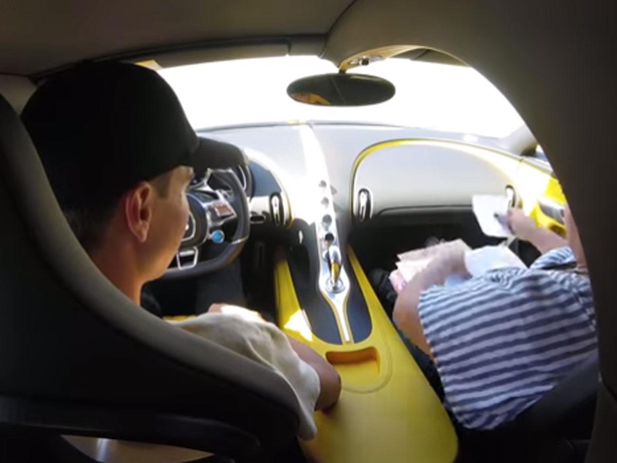 Carné de conducir Bugatti Chiron