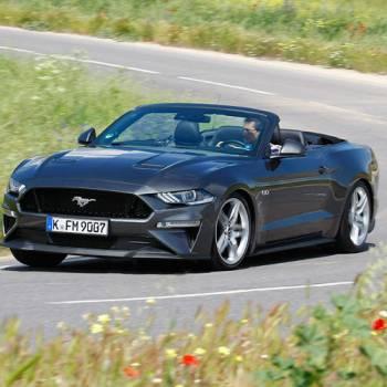 Prueba del Ford Mustang GT Convertible: a trote y a galope