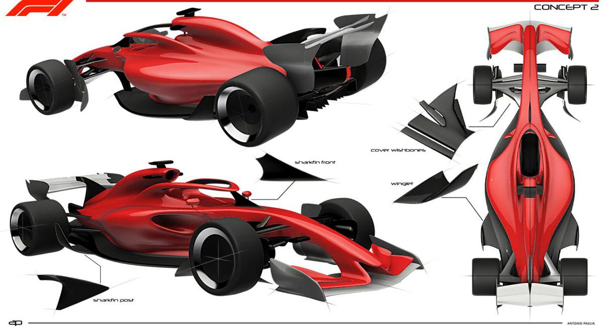 Formula 1 2021 Concept 2