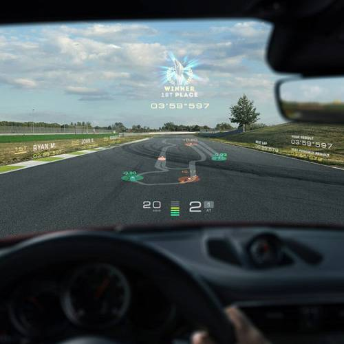 La realidad virtual llega a los head-up display