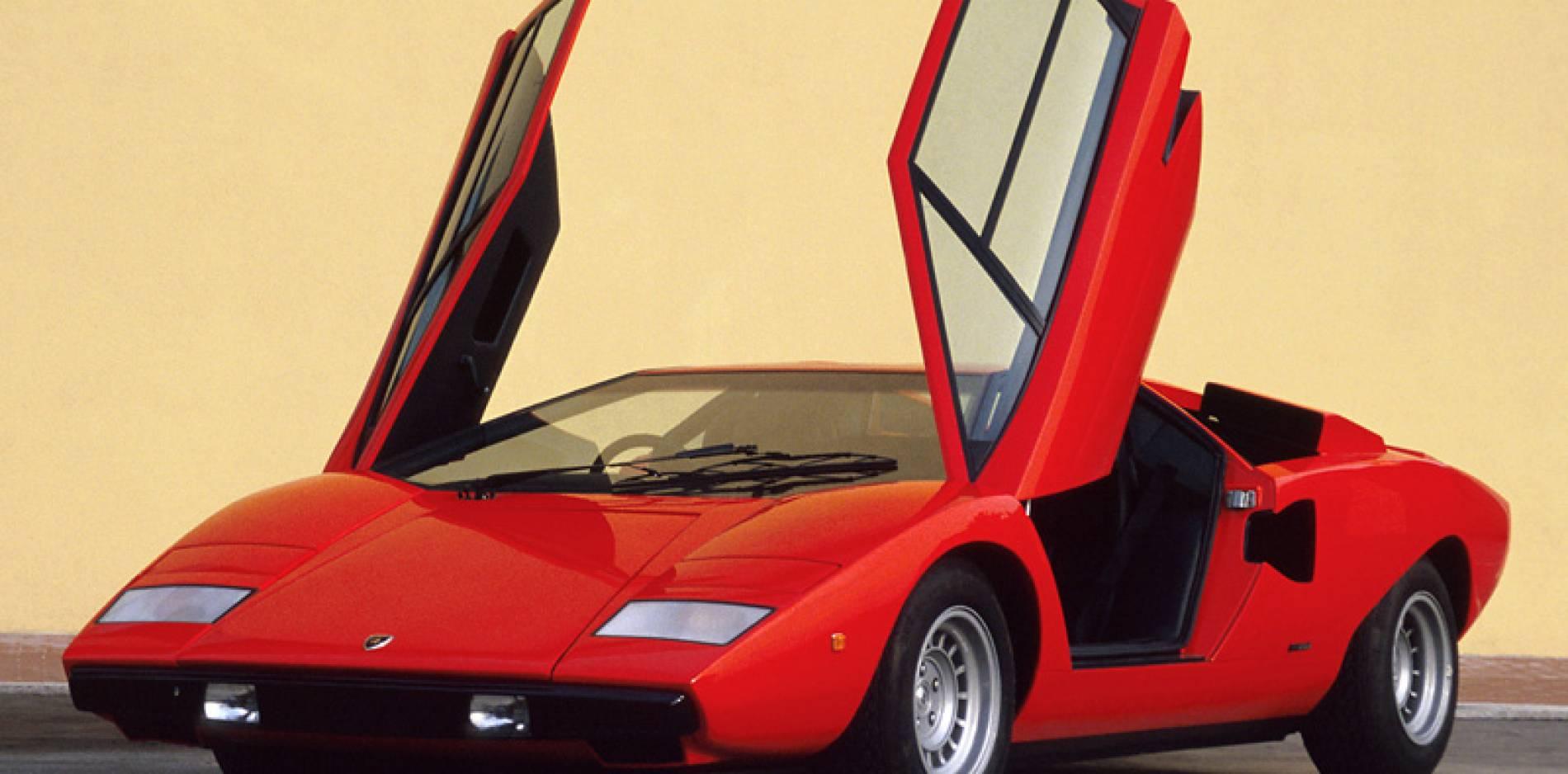 Génesis del Lamborghini Countach: un poco de historia