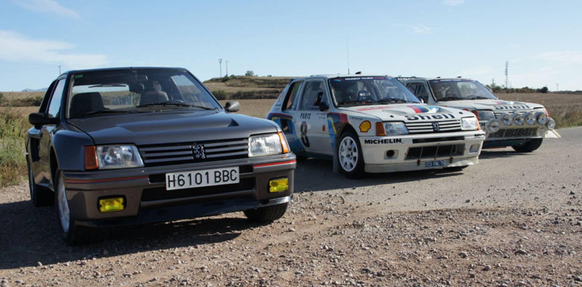 Nos vamos de carreras: especial Peugeot 205 T16