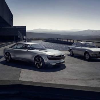 Peugeot e-Legend Concept Car, inspiración retro para el coche del futuro