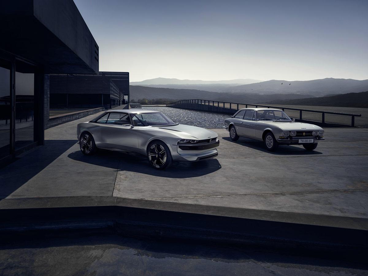 Peugeot E Legend Concept Car Inspiracion Retro Para El Coche Del