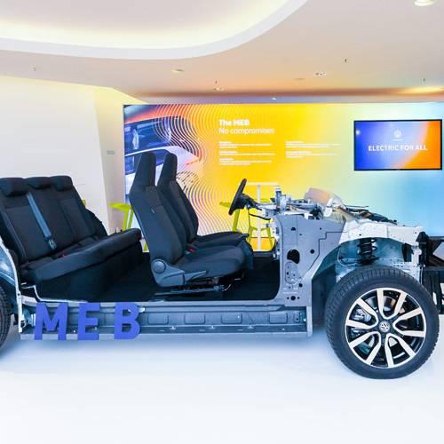 Volkswagen presenta la plataforma MEB que montarán sus coches eléctricos