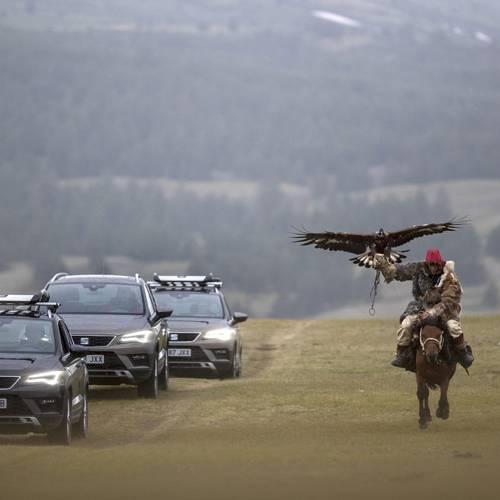 El SEAT Ateca demuestra sus aptitudes off-road en Mongolia