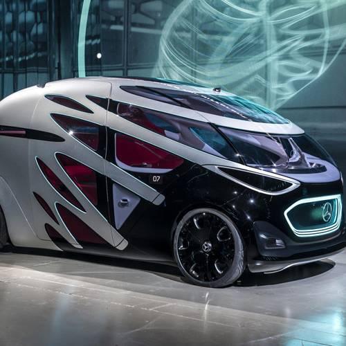 Mercedes-Benz Vision Urbanetic: el vehículo autónomo con carrocería intercambiable