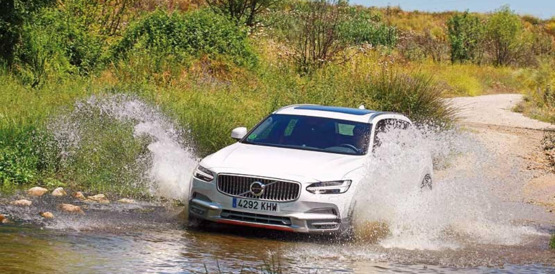 Prueba del Volvo V90 Cross Country: un toque refrescante
