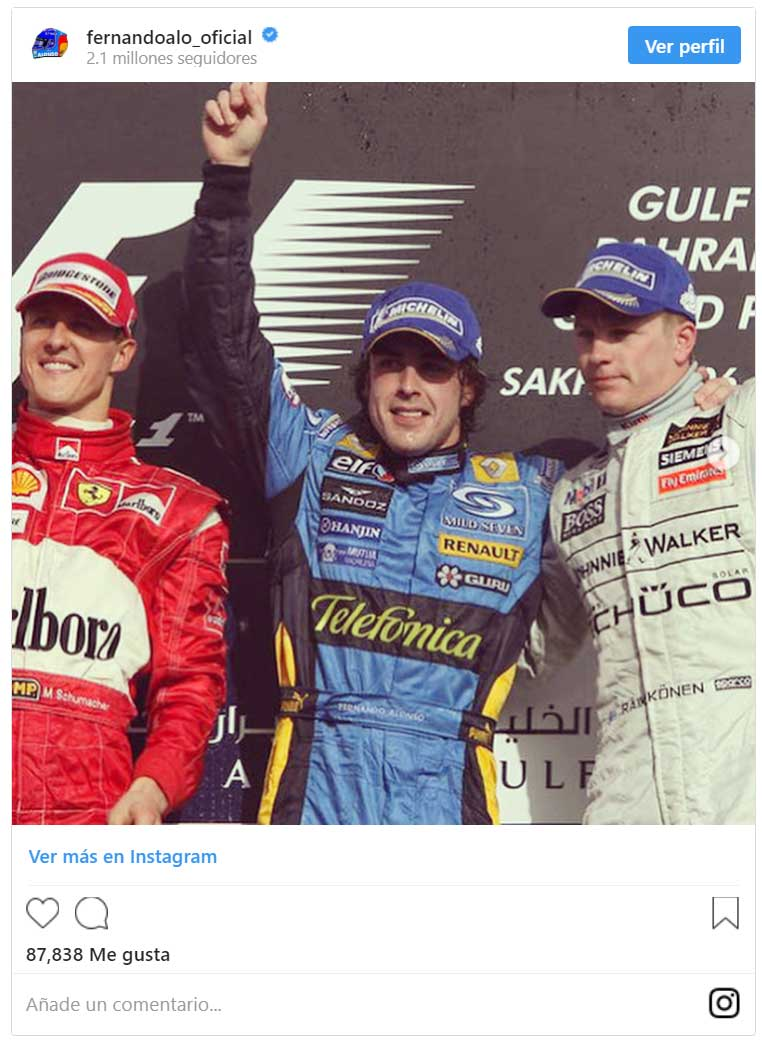 Domenicali se pronuncia: ¿mejor Fernando Alonso o Michael Schumacher?