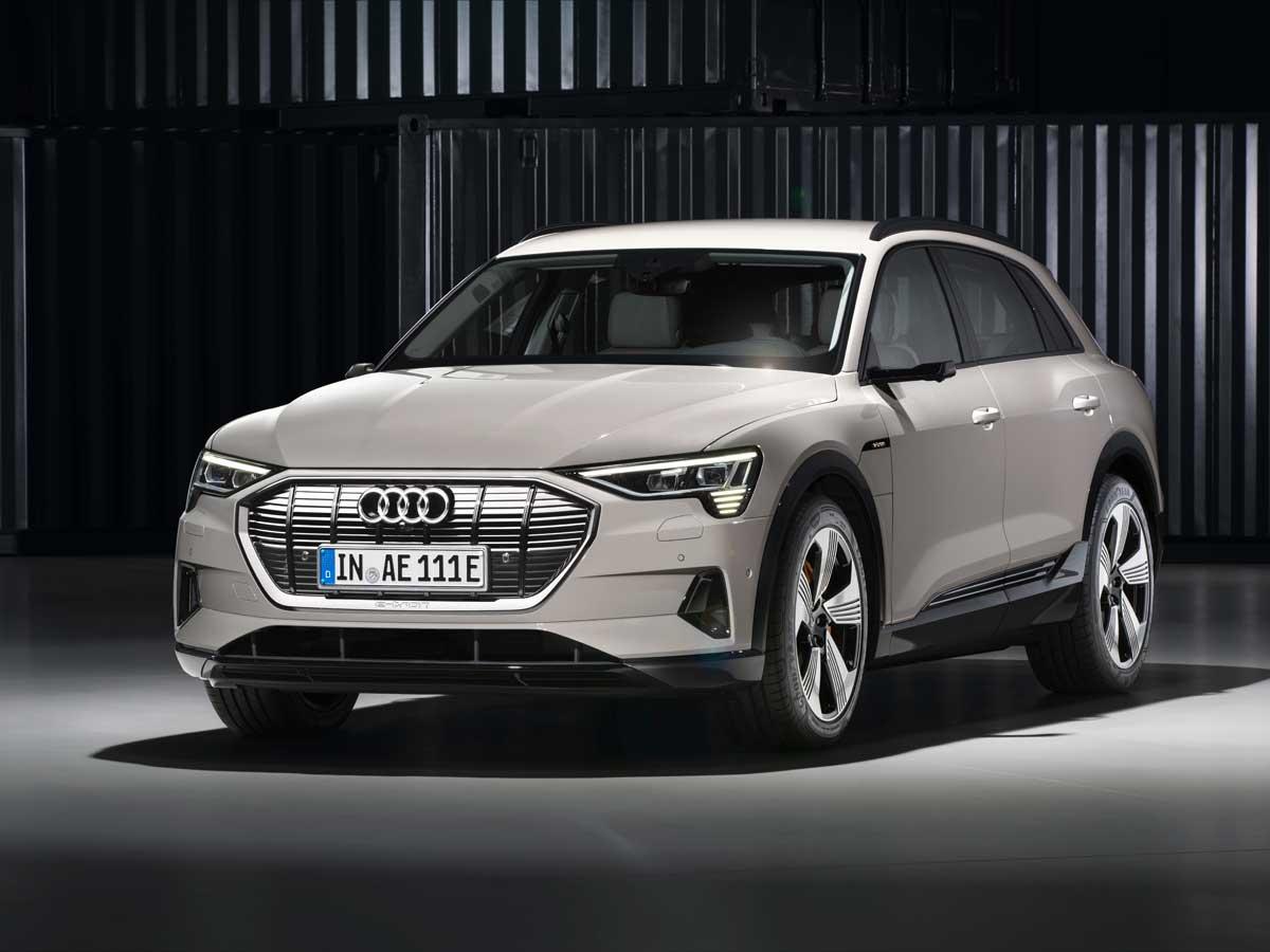 El Audi e-tron es la gran apuesta de Audi. Alcanza los 400 km de autonomía teórica.