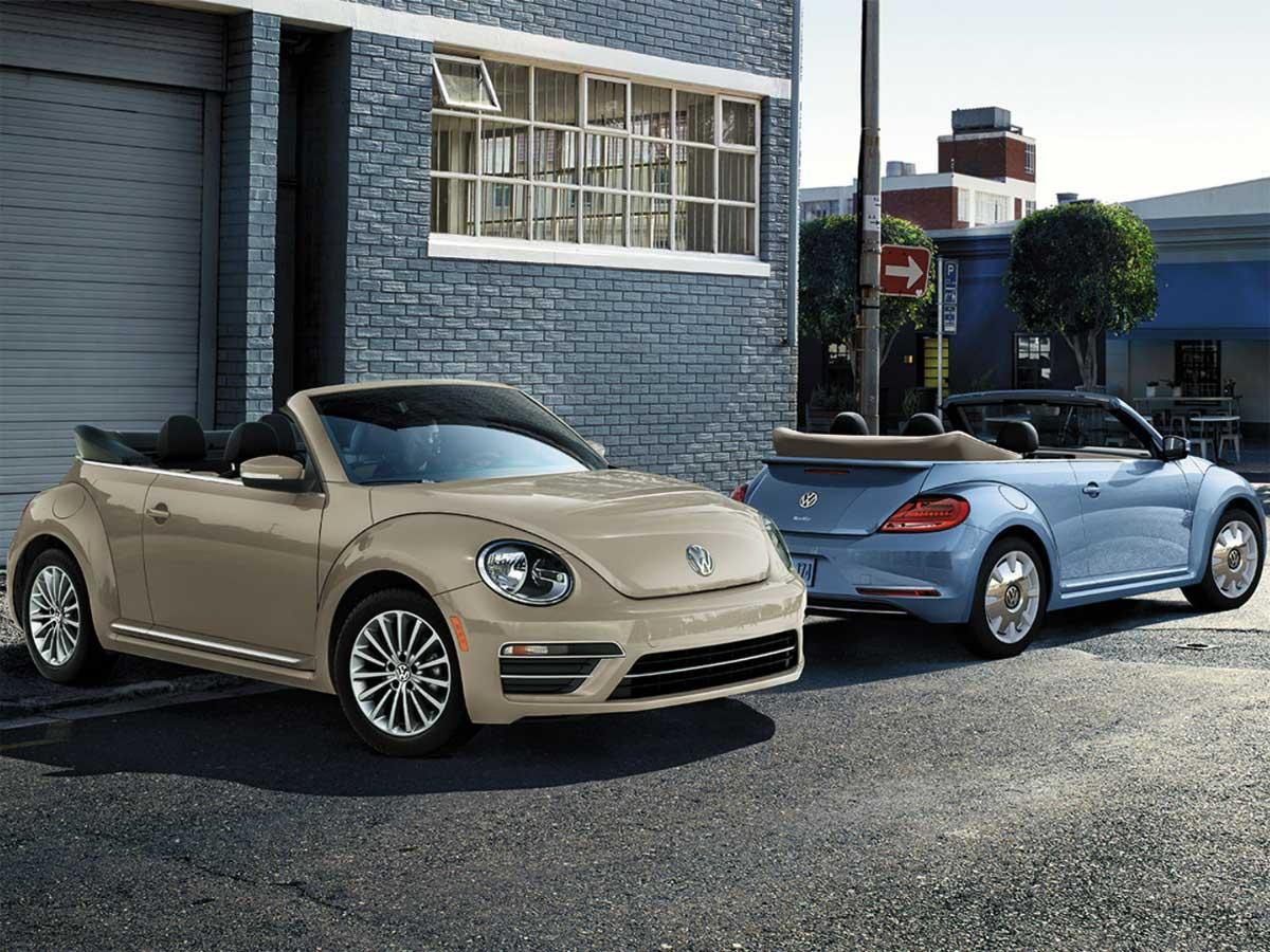 Esta es la imagen del VolkswagenBeetle Final Edition 2019 que se presentará en EEUU.