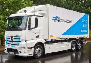 Ya está en pruebas eActros, el camión eléctrico de Mercedes