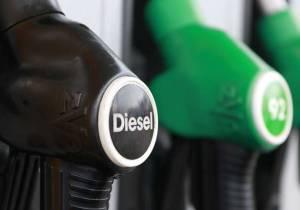 La subida del diésel: 3,3 euros por vehículo al mes