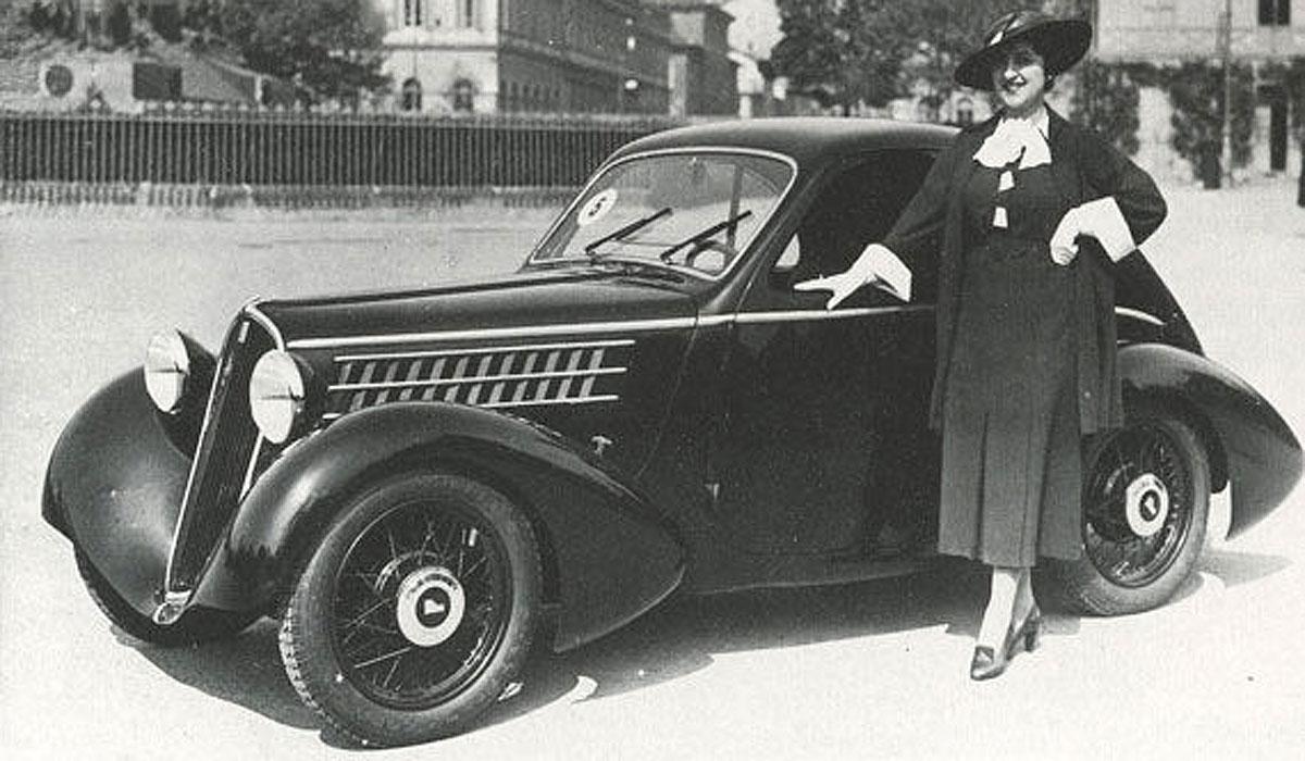 Fiat Berlinetta Aerodinámica