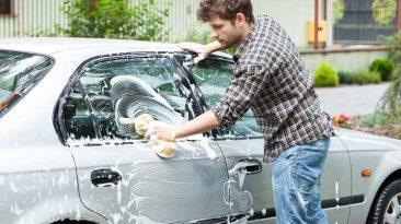 lavar coche calle