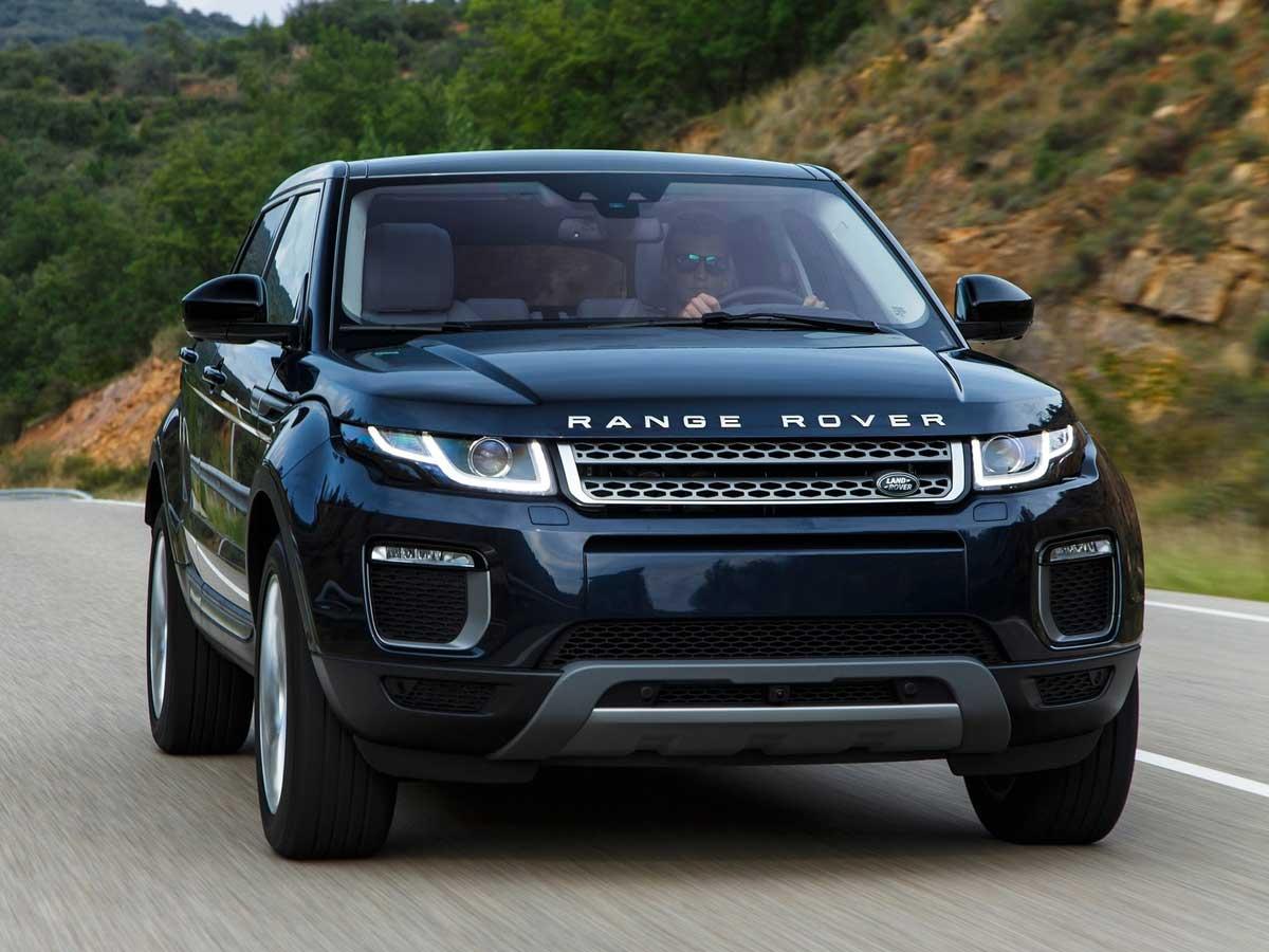 Luces diurnas de un Range Rover