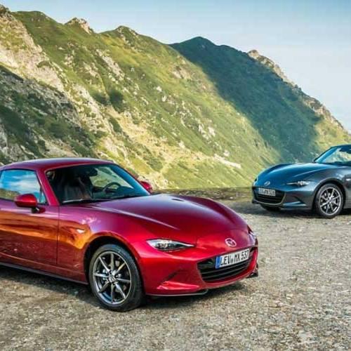 Prueba del Mazda MX-5 2019: por la impresionante ruta de Transfagarasan