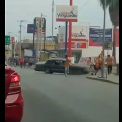 Atropello masivo en México tras una pelea de ultras