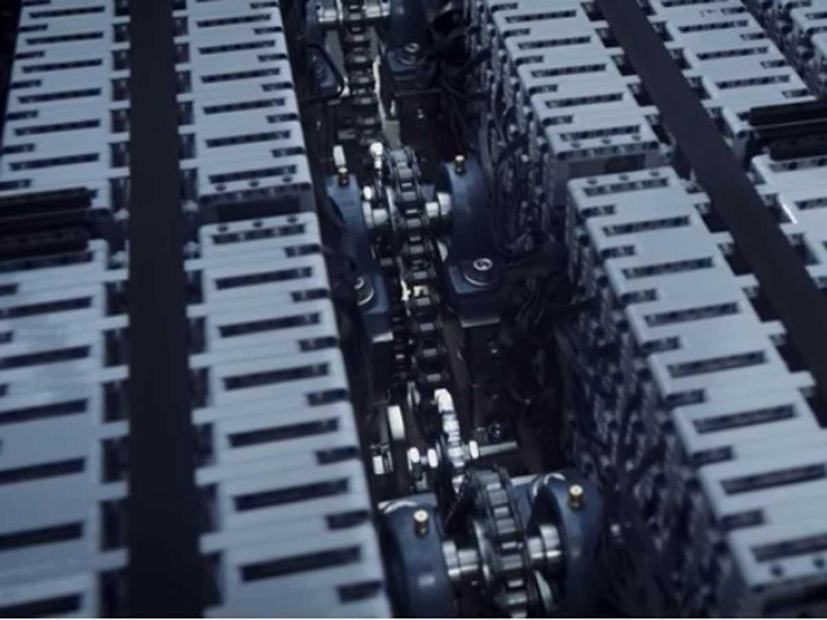 motor del Bugatti Chiron de Lego