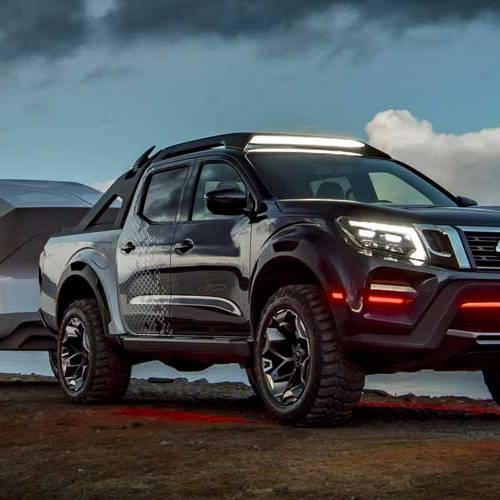 Nissan Navara Dark Sky, el pick-up con observatorio espacial móvil