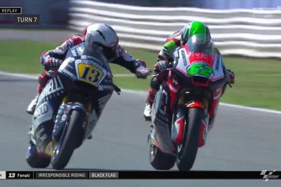 10 polémicas en MotoGP: de Márquez a Rossi pasando por Fenati y Simoncelli